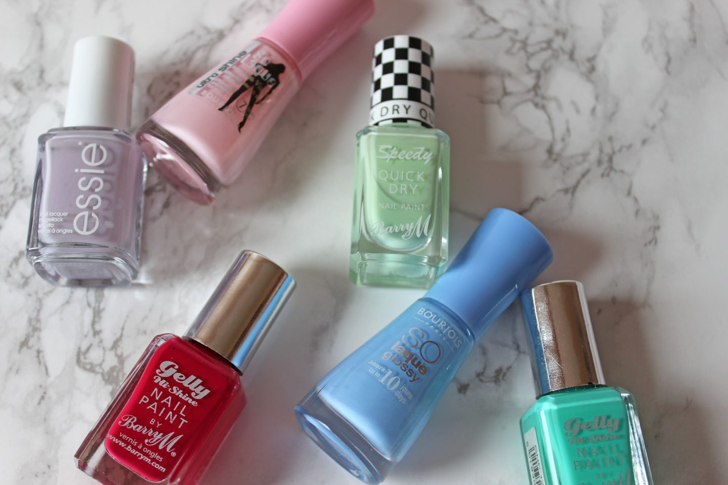 6 Spring Into Summer Nail Colours Swatches Beaming Lily